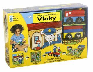 Vlaky - Moje malá knížka - neuveden
