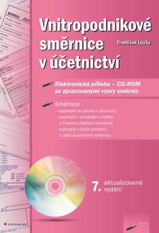 Vnitropodnikové směrnice v účetnictví s CD-ROMem - František Louša