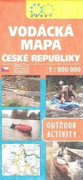Vodácká mapa ČR 1:800 000 -
