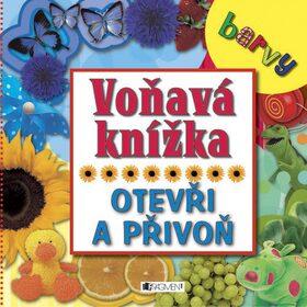 Voňavá knížka Barvy -