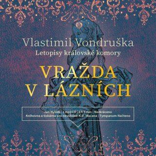 Vražda v lázních - Vlastimil Vondruška - audiokniha