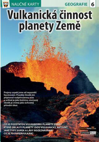 Vulkanická činnost planety Země - Naučné karty - neuveden