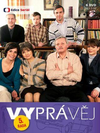 Vyprávěj 5. řada (reedice) - 6 DVD - DVD