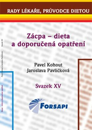 Zácpa – dieta a doporučená opatření - Pavel Kohout, Jaroslava Pavlíčková