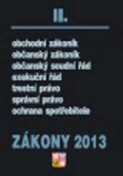 Zákony 2013 II. -