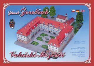 Zámek Žerotínů - Valašské Meziříčí - Stavebnice papírového modelu - neuveden