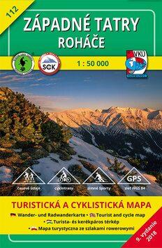 Západné Tatry Roháče 1:50 000 -