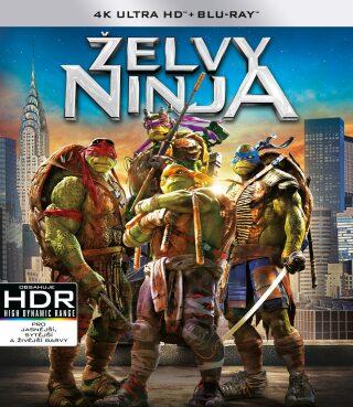 Želvy Ninja 2BD (UHD+BD) - 4K/UHD + BD