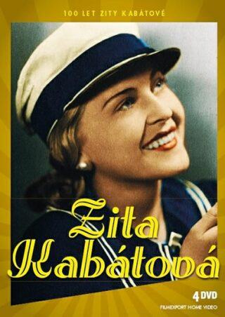 Zita Kabátová 100 let - Zlatá kolekce - 4 DVD - neuveden