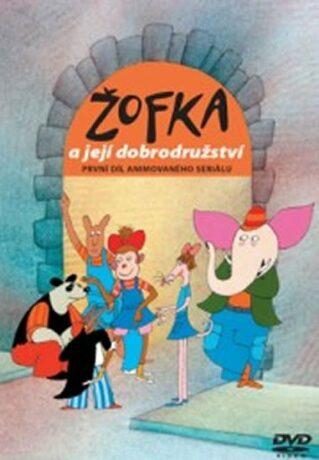 Žofka a její dobrodružství 1. - DVD - Miloš Macourek