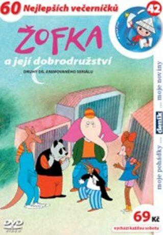 Žofka a její dobrodružství 2. - DVD - Miloš Macourek