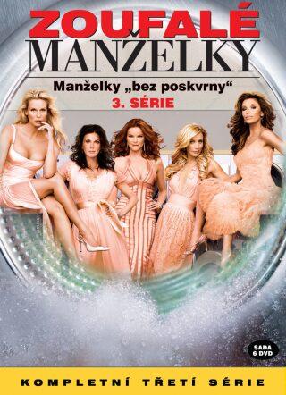 Zoufalé manželky 3. série 6DVD - DVD