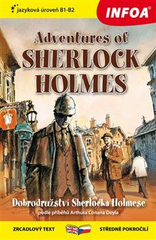 Zrcadlová četba - Adventures of Sherlock Holmes (B1-B2) - Arthur Conan Doyle