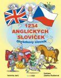 1234 anglických slovíček - Obrázkový slovník pro děti - Janů Veronika