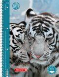 Studentský blok linkovaný - Tygr (A4) - KANORG