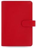 Filofax Diář A6 - Saffiano, Osobní, červená - Filofax
