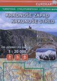 Turistická cyklomapa Krkonoše-západ,střed - Kartografie HP