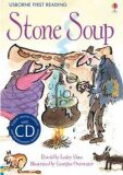Usborne First 2 - Stone Soup + CD - Lesley Sims
