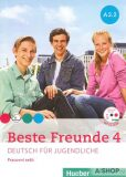 Beste Freunde 4 A2/2 - pracovní sešit+CD (česká verze) - Manuela Georgiakaki