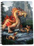 3D SEŠIT A5-Zlatý horský drak - TRIGO CZ