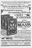 Plakát - Fantastic Beasts - The Crimes Of Grindelwald (Flourish And Blotts) -