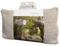 Vyhřívaný polštář Sylt z organické bavlny, uvnitř termofor Hugo Frosch Eco Classic Comfort - Hugo Frosch