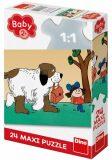 Maxipes Fík: maxi puzzle 24 dílků - Dino Toys