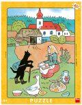 Deskové puzzle Josef Lada: Mikeš na vandru - 40 dílků - Lada Josef