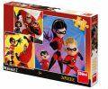 Puzzle Úžasňákovi 2 - 3x55 dílků - Dino Toys