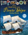 Build Your Own Pirate Ships: Sticker Book - Simon Tudhope