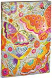 Zápisník Paperblanks - Flutterbyes - Flexis Midi nelinkovaný - Hartley & Marks