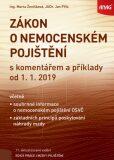 Zákon o nemocenském pojištění s komentářem a příklady k 1. 1. 2019 - Marta Ženíšková, ...