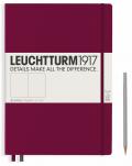 Zápisník Leuchtturm1917 Port Red Pocket čistý - Leuchtturm1917