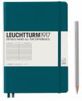 Zápisník Leuchtturm1917 Pacific Green Pocket linkovaný -