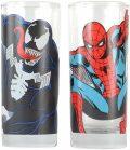 Sklenice Spider-Man a Venom set 2 ks - MagicBox