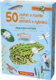 Expedice příroda: 50 zvířat a rostlin našich potoků a rybníků - MINDOK