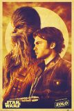 Plakát - Solo: A Star Wars Story (Han and Chewie) -