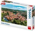 Český Krumlov - Dron Collection Puzzle 1000 dílků - Dino Toys