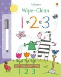 Usborne Wipe-clean 1 2 3 - Felicity Brooks
