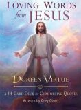 Loving Words from Jesus: A 44-Card Deck of Comforting Quotes - Doreen Virtue