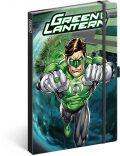 Notes - Green Lantern linkovaný, 13 × 21 cm - Presco Group
