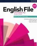 English File Intermediate Plus Student´s Book with Student Resource Centre Pack 4th (CZEch Edition) - Clive Oxenden, ...
