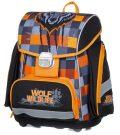 Školní batoh PREMIUM vlk - Karton P+P