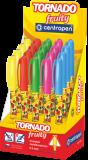 Tornádo Fruity mix barev -