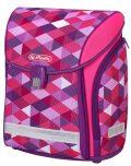Školní taška Midi - Růžové kostky - Herlitz