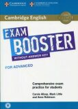 Cambridge English Exam Booster for Advanced without Answer Key with Audio - Allsop Carole, Little Mark