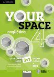 Your Space 4 Pracovní sešit 3v1 - Martyn Hobbs, ...