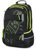 Studentský batoh OXY Sport BLACK LINE green - OXYBAG
