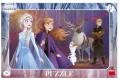 Ledové království II - deskové puzzle 15 dílků - Dino Toys