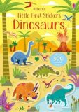 Little First Stickers Dinosaurs - Kirsteen Robson